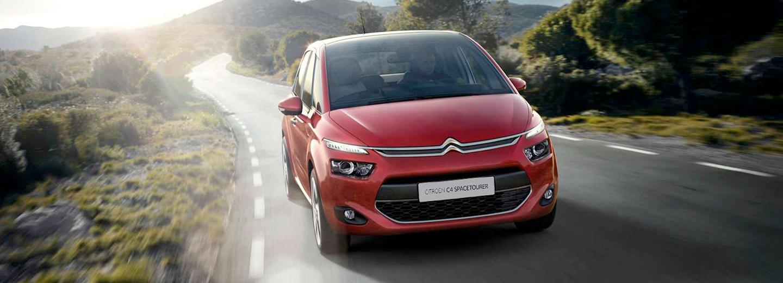 Citroën C4 rojo