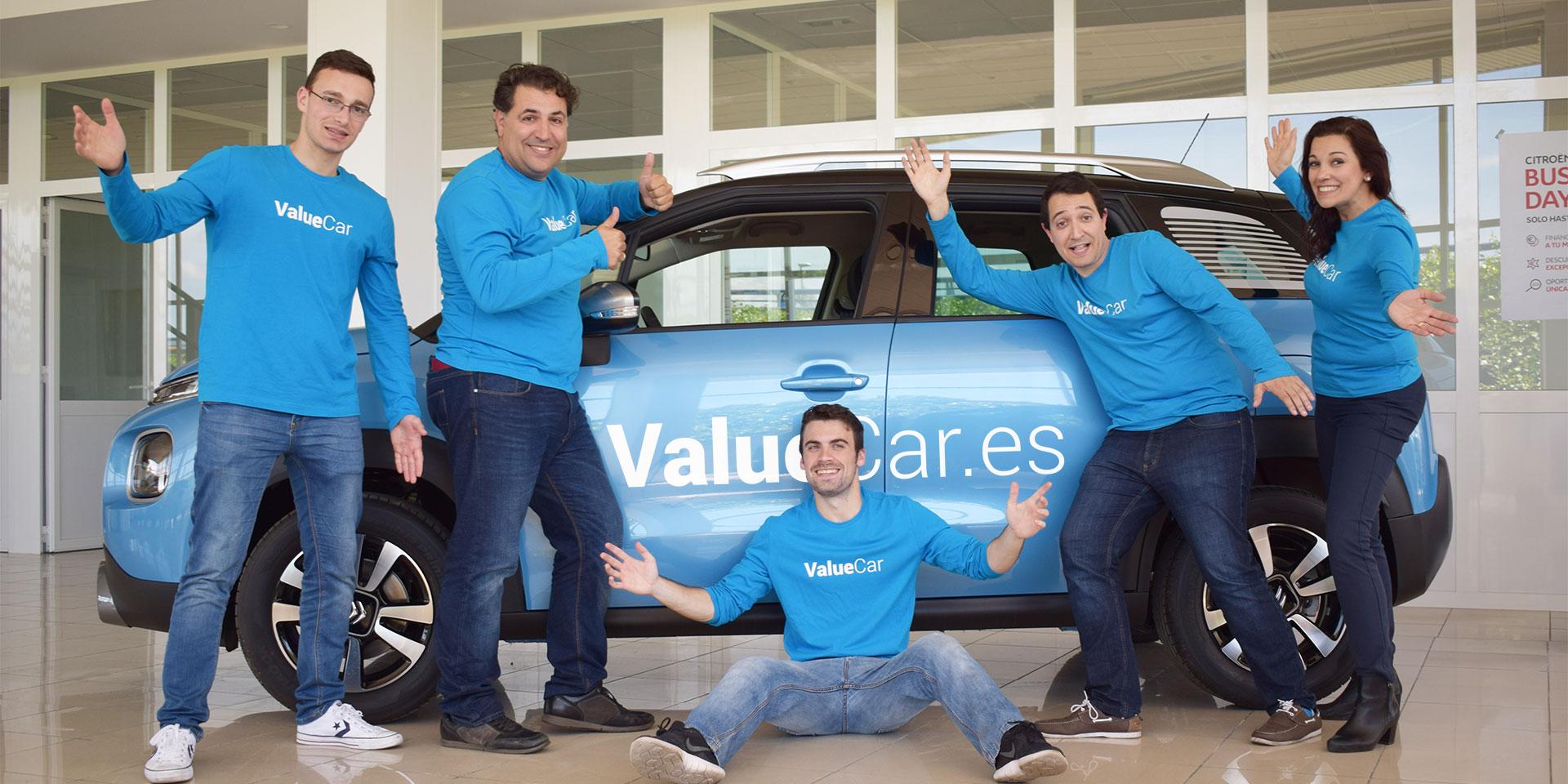 Miembros del comparador de concesionarios ValueCar.es