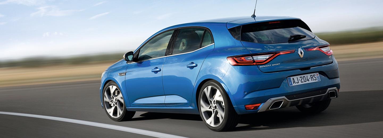 Renault Megane azul