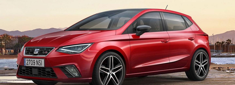 Seat León en color rojo