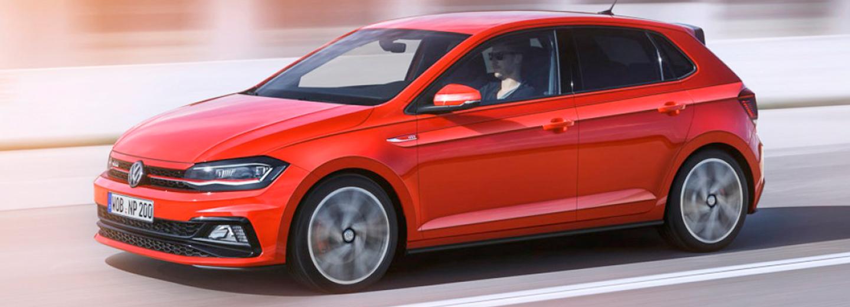 Volkswagen Polo color rojo