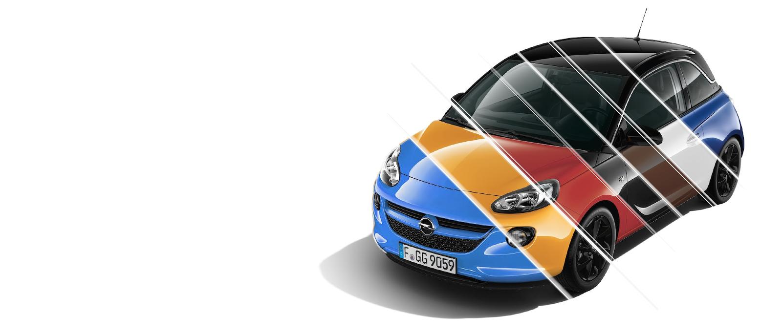 Opel Adam de colores