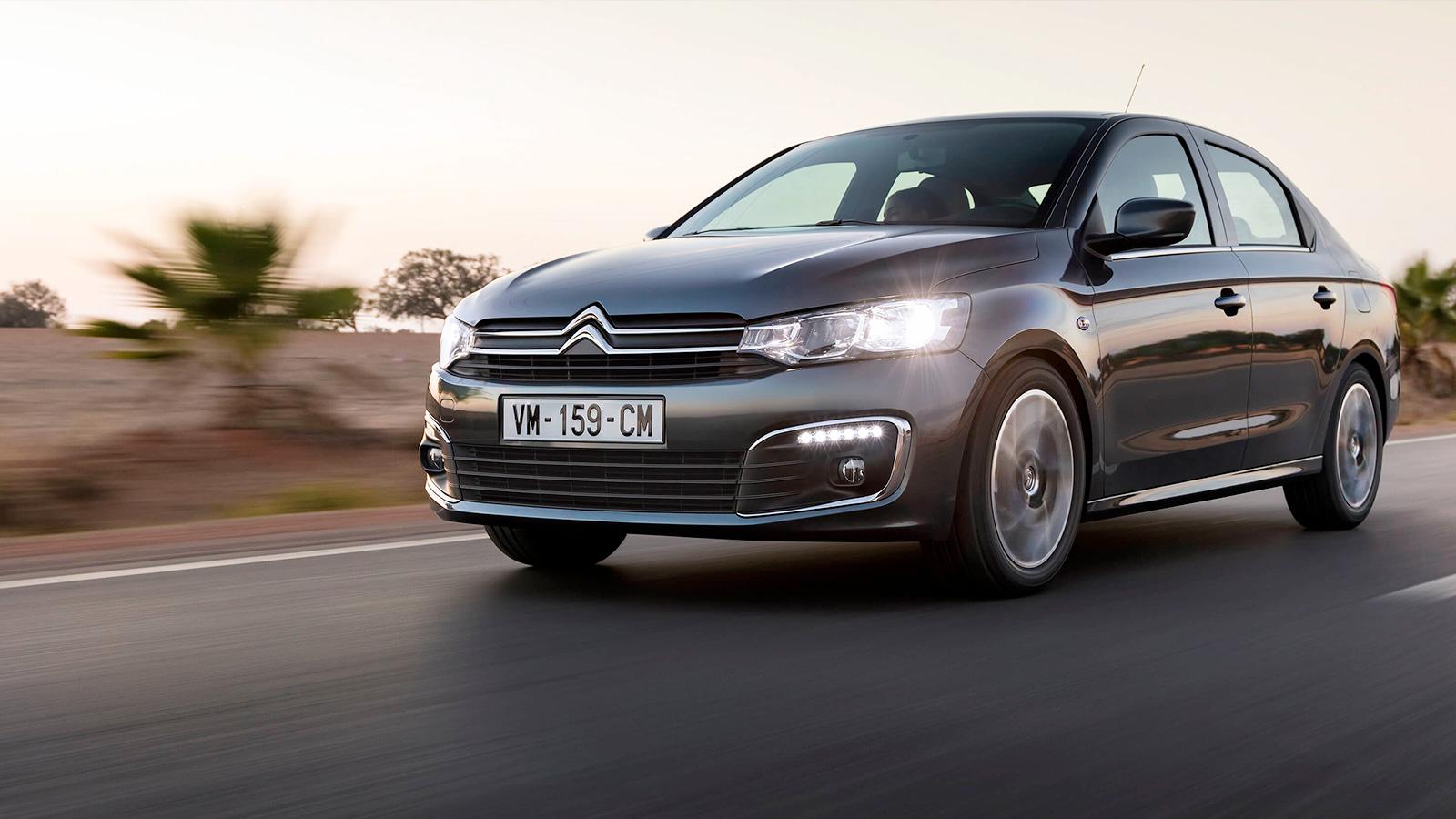 Citroën C-Elysée - El coche que compite en el segmento de las berlinas