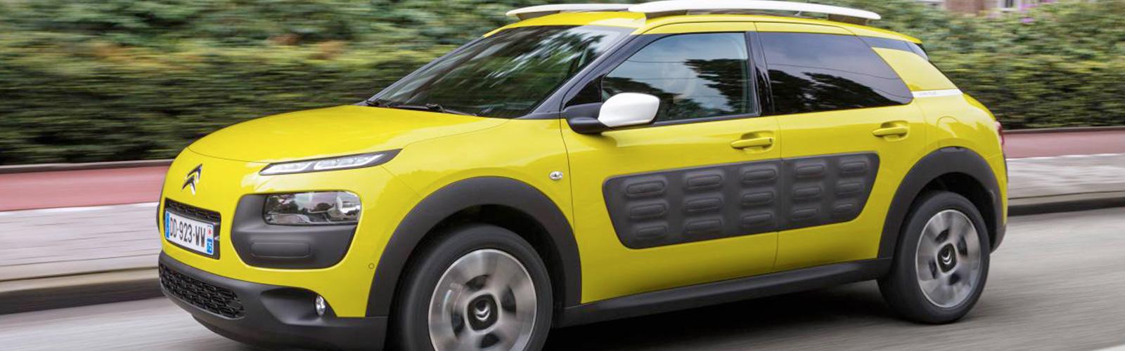 la coducción del Citroën C4 Cactus es divertida y te hará el viaje ameno