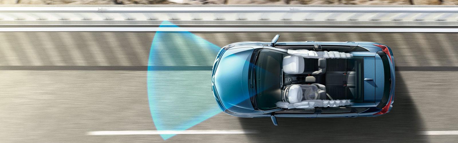 Nuevo sistema Toyota Safety Sense