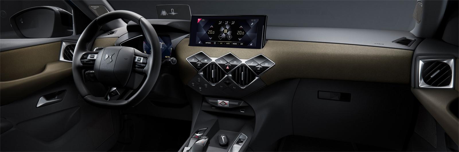 Interior DS3 Crossback
