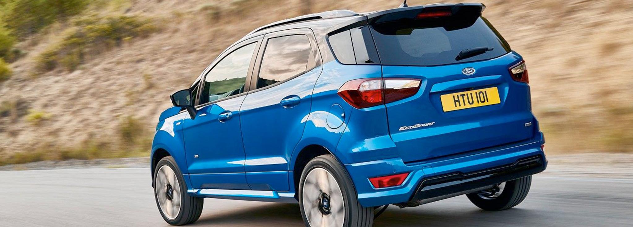 Ford EcoSport en carretera
