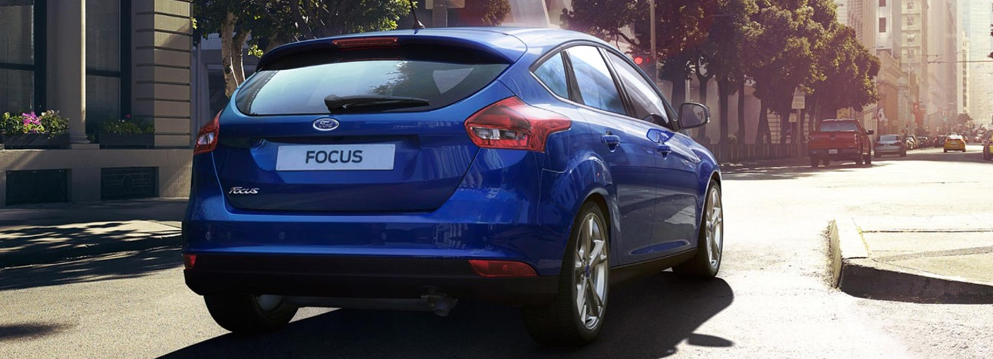Trasera Ford Focus