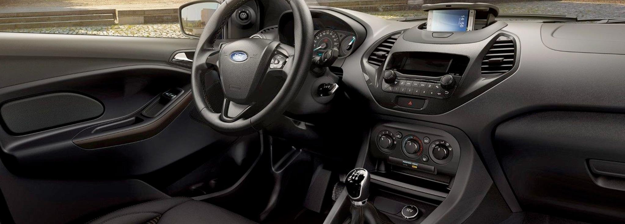 Interior del ford ka+