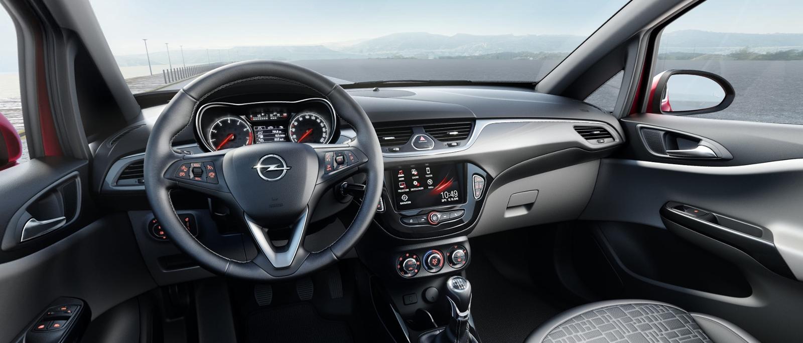 Interior Opel Corsa