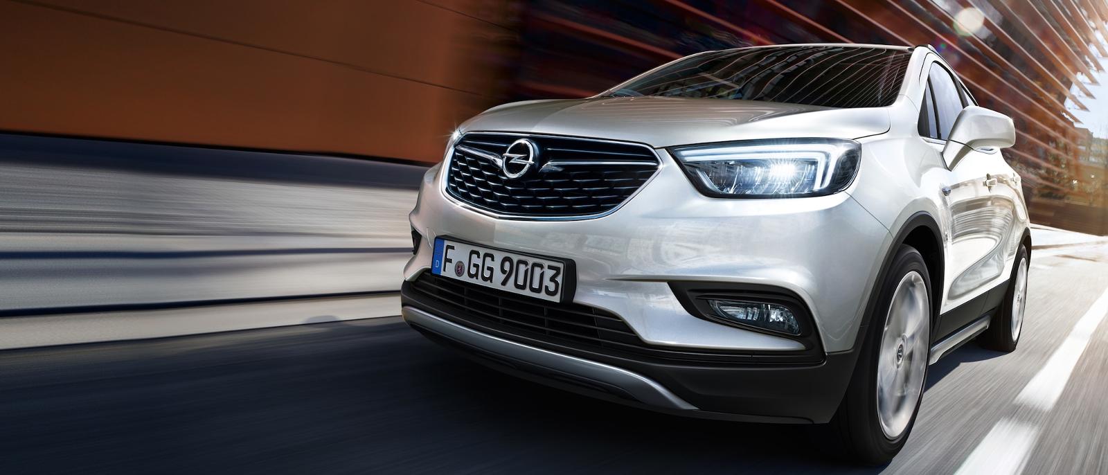 Frontal Opel Mokka X
