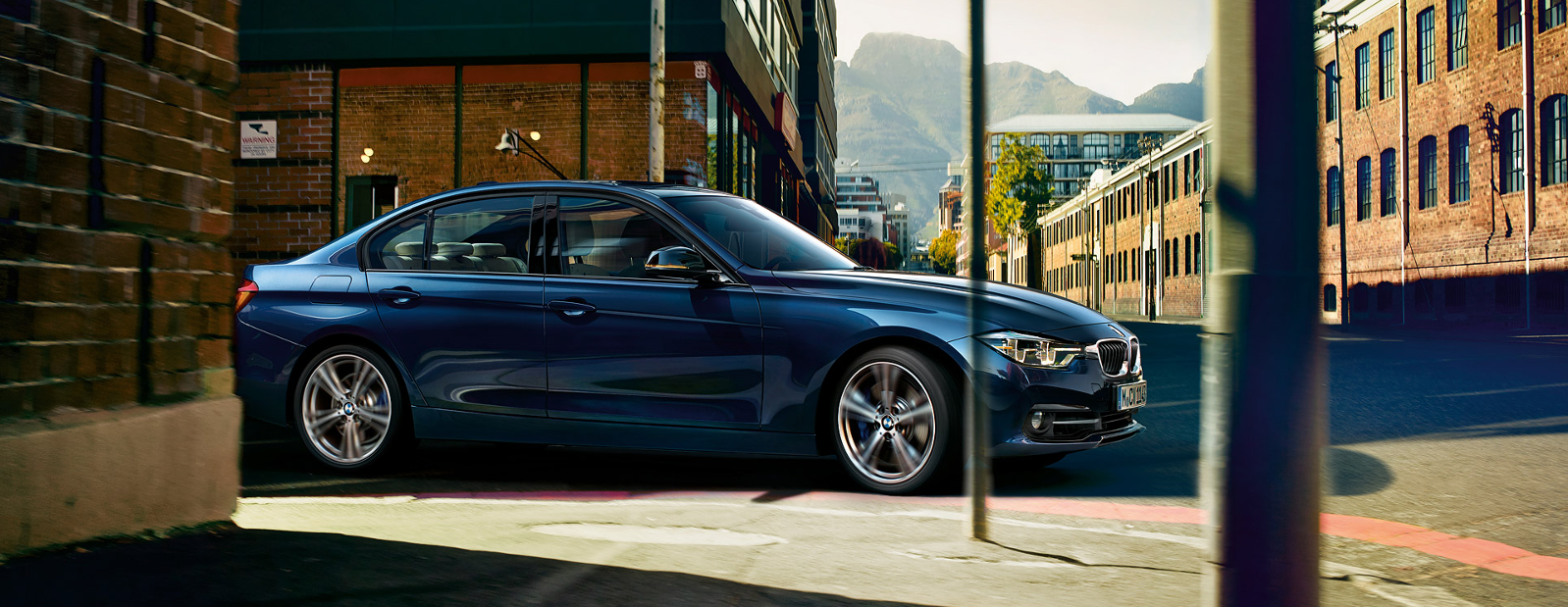 Lateral BMW Serie 3