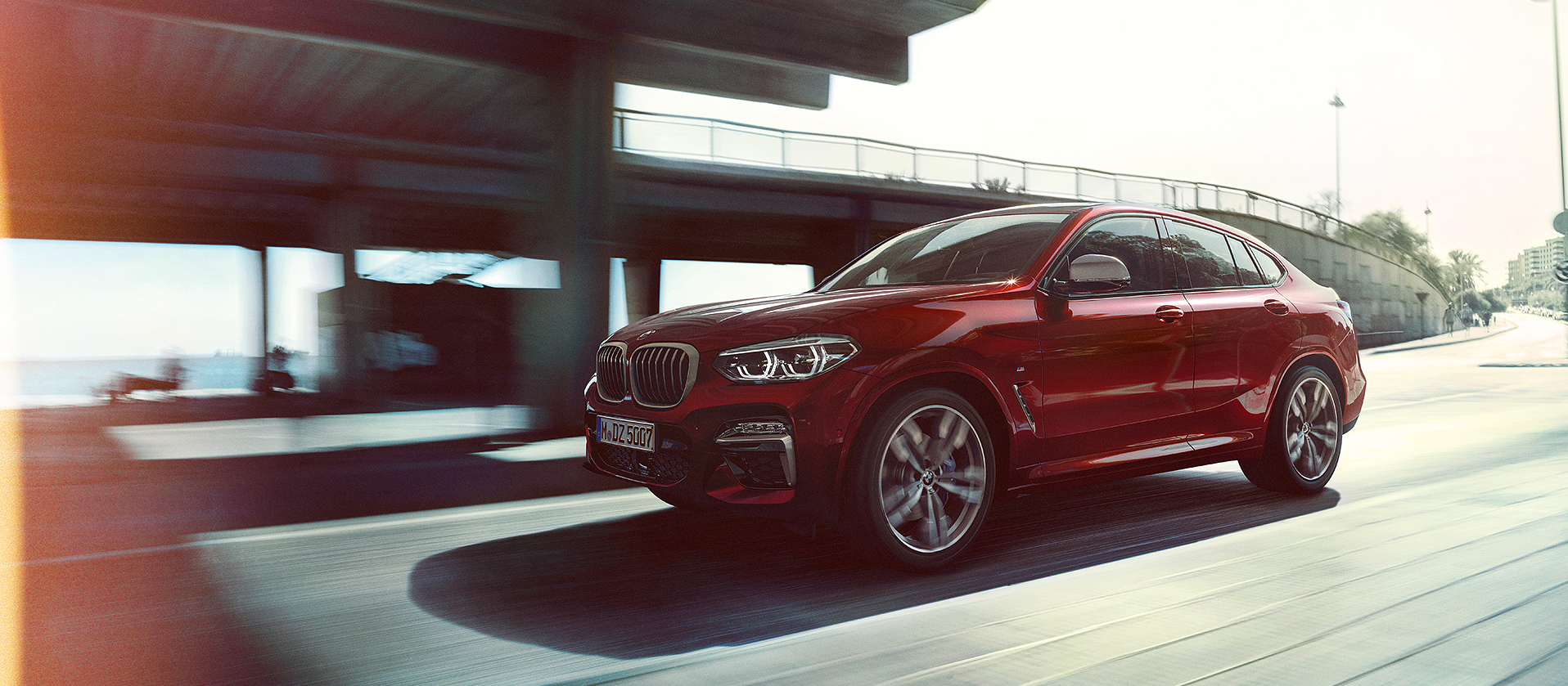 Lateral BMW X4