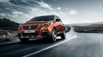 Frontal Peugeot 3008