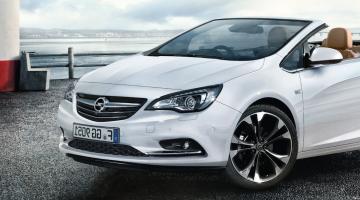 Opel cabrio blanco