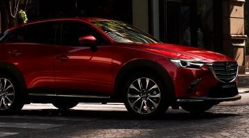 Mazda cx3 rojo