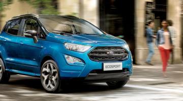 Ford EcoSport azul