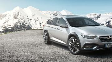 Opel Insignia Country Tourer plateado