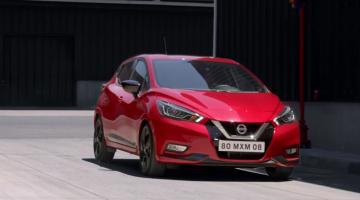 Nissan micra rojo
