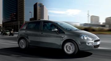 Fiat Punto gris