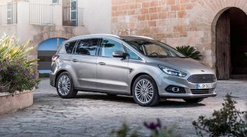 Ford S-Max plata