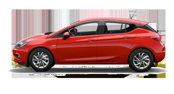 Opel Astra 5 puertas de renting