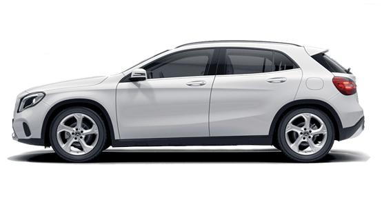 Mercedes Benz GLA Todoterreno de renting
