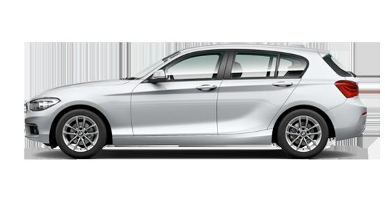 BMW Serie 1 cinco puertas de renting